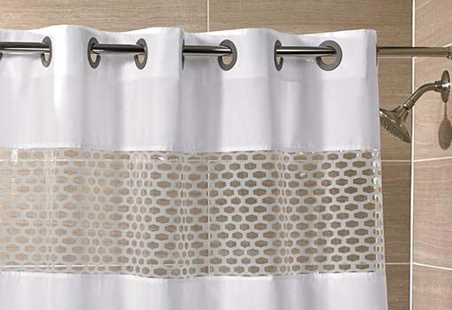 Hookless Shower Curtain Shop Hampton Inn Hotels